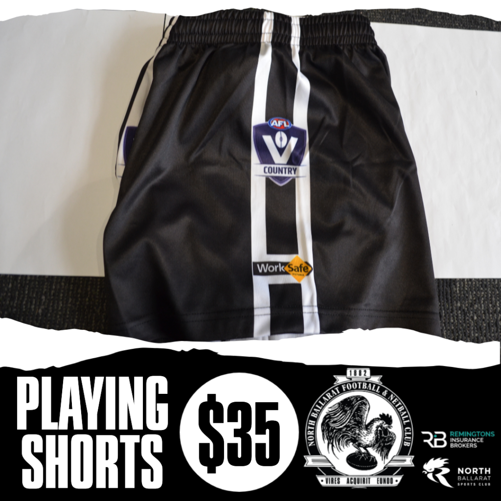 playing shorts black